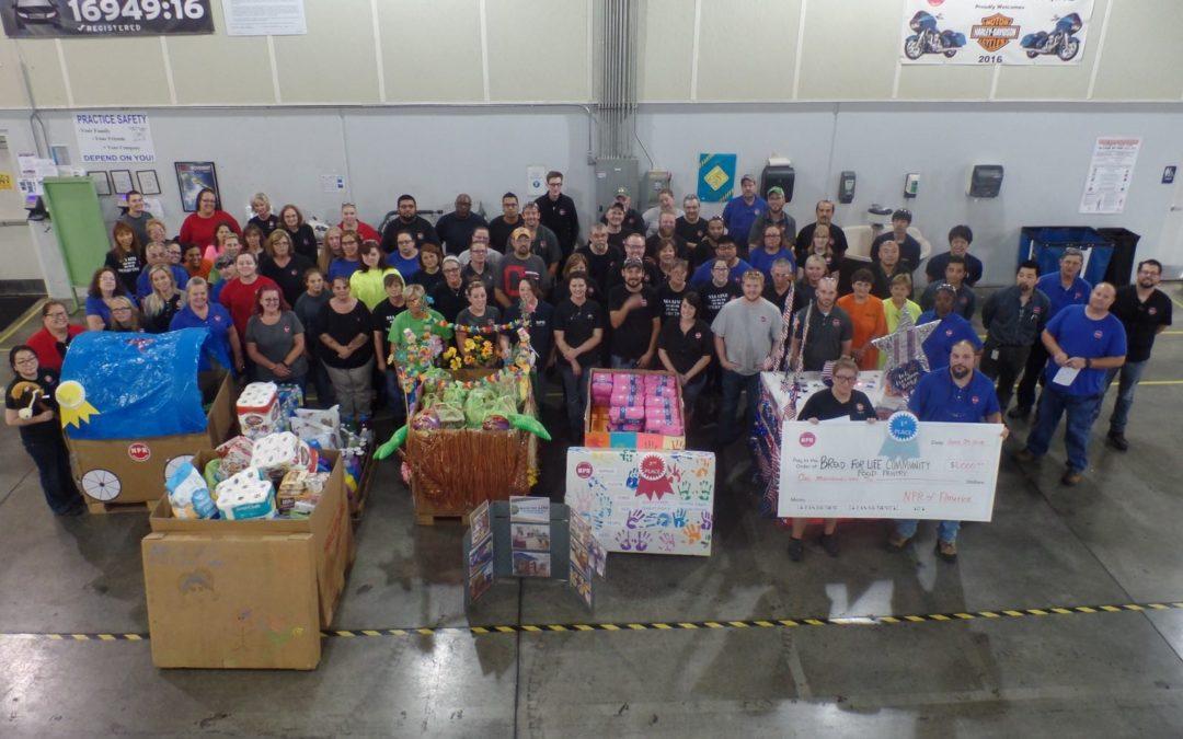 Local Company Donates To Food Pantry St Vincent De Paul