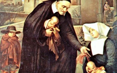 St. Vincent de Paul, patron saint of charities