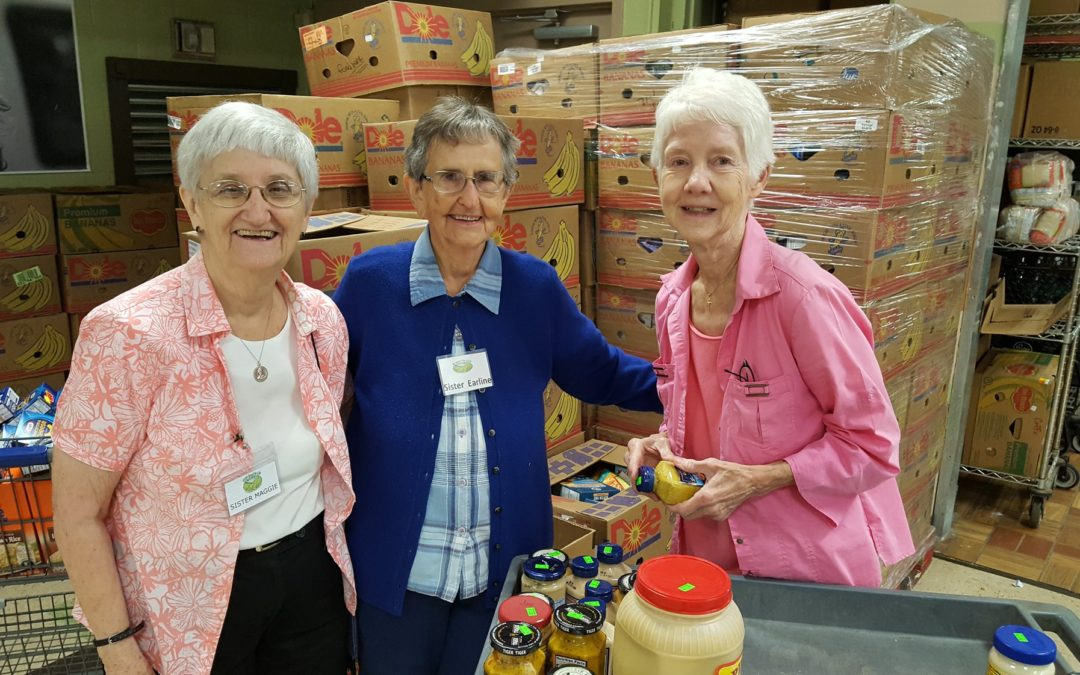 Volunteers support SVDP