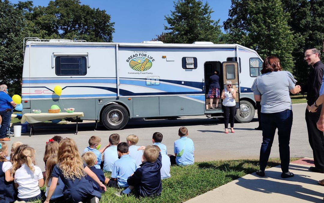 Community food pantry hits the road